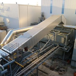 Industrial insulation ducting