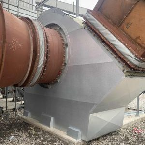 Thermal industrial fan insulation and cladding
