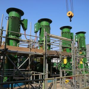 Industrial coatings, scaffolding access