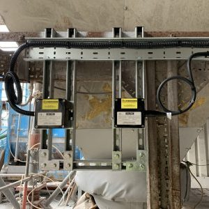 Trace heating temperature maintenance system junction box