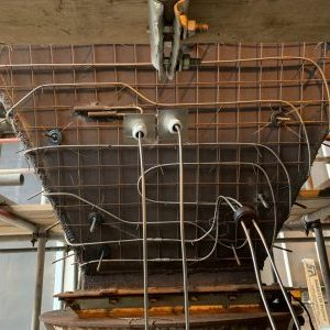 Electrical trace heating system, ash handling, hopper