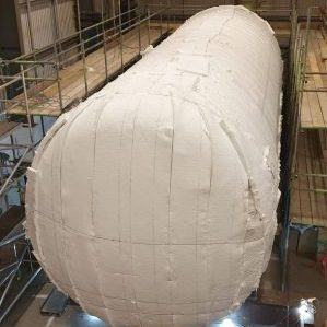 Industrial coatings, scaffolding access, pressure vessel