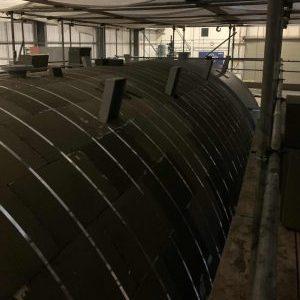 Thermal insulation foam glass