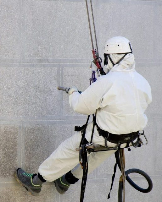 Industrial coatings rope access