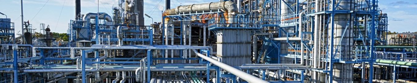 Chemical processing manufacturing plant