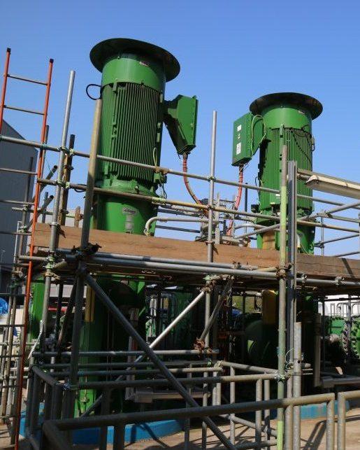 Industrial coatings equipment painting