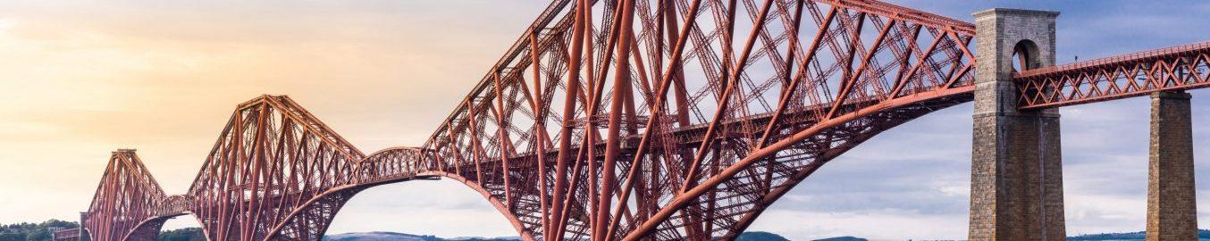 Steel rail bridge infrastructure