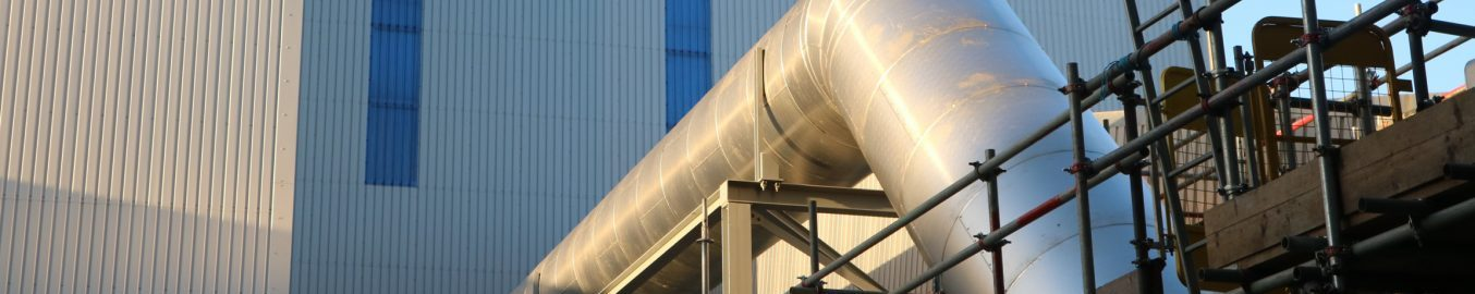Thermal industrial insulation ducting