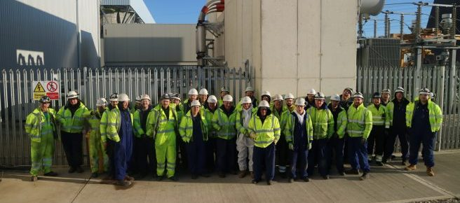 Industrial operatives power plant