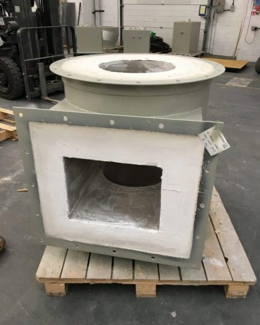 Refractory lining ducting