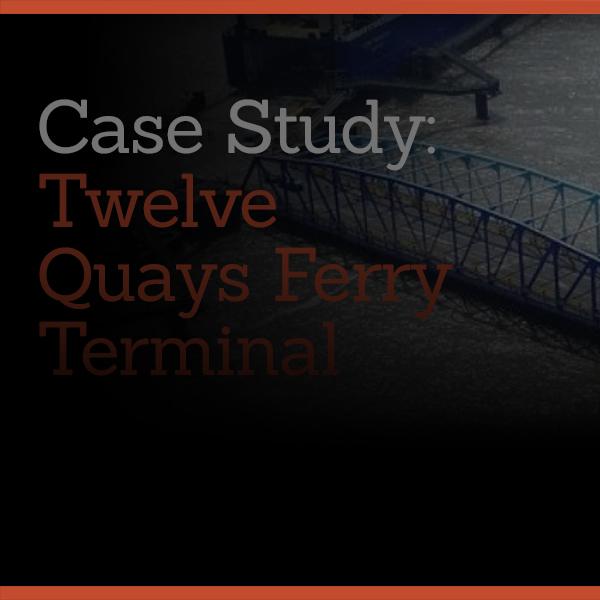 Powertherm Projects: Twelve Quays Ferry Terminal