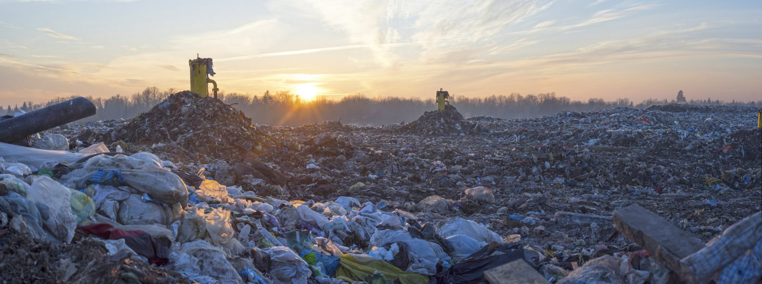 Waste landfill, greenhouse gases, energy from waste