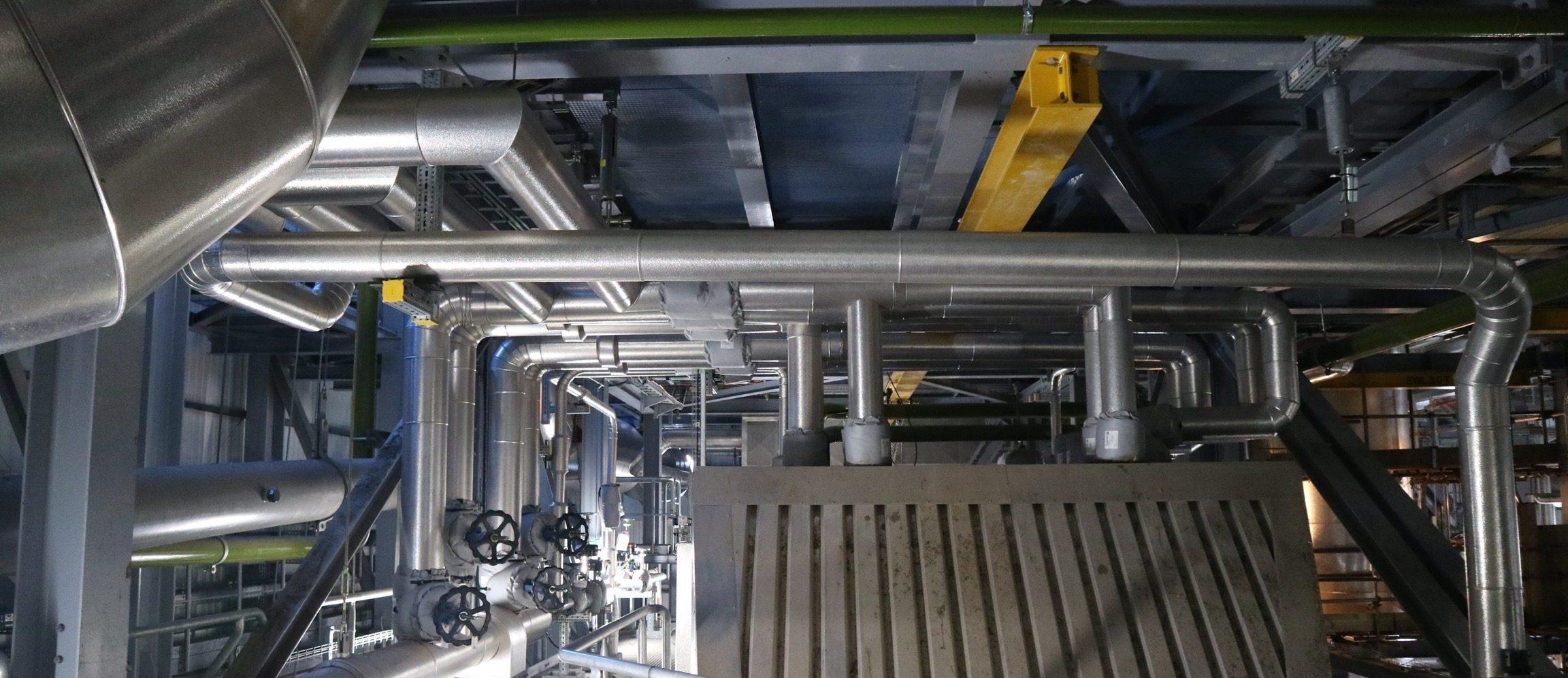 Thermal Insulation, Pipework, Boiler