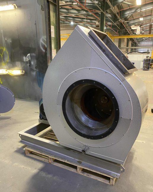 Acoustic insulation, industrial fan