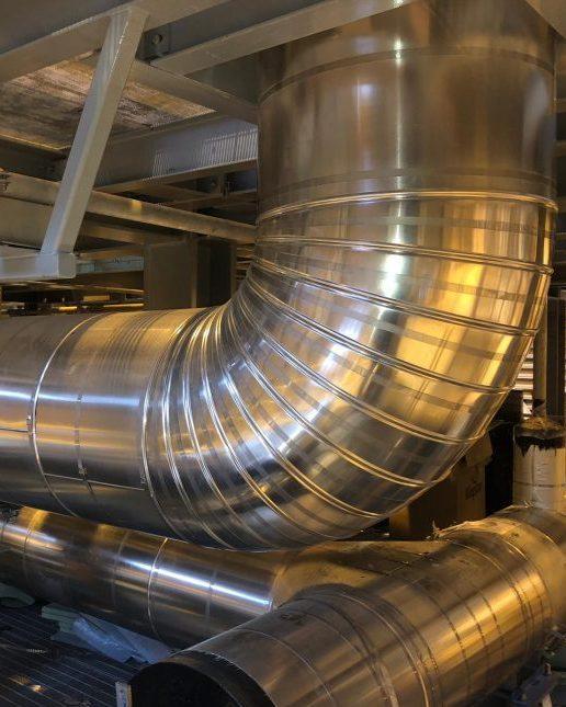 Cryogenic insulation pipework