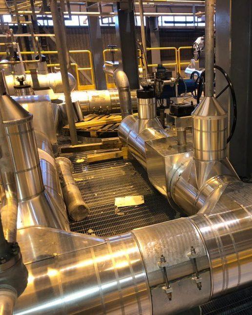 Cryogenic insulation equipment