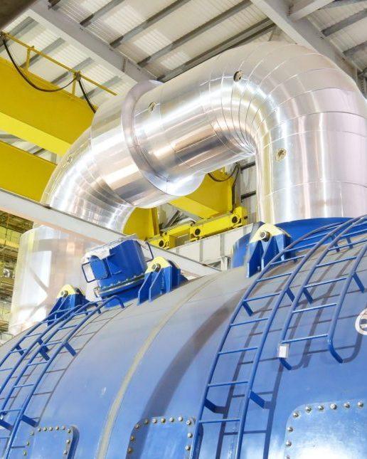 Acoustic insulation, turbine